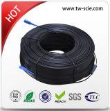 Câble optique de fibre de FTTX 2.0*5.0mm avec le messager