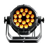 Rasha Vierradantriebwagen IP65 imprägniern LED-NENNWERT Projektor mit 18*10W 4in1 RGBW/RGBA Powercon DMX Stadiums-Beleuchtung