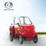 De mini MiniKar van de Open tweepersoonsauto van de Autoped