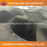 Сваренная плита вкладыша верхнего слоя карбида хромия