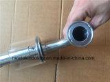 Válvula de dilatação de ferrolhos de fermentação sanitária com cotovelo Triclamp