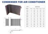Type condensateur d'ailette refroidi par air de tube de cuivre