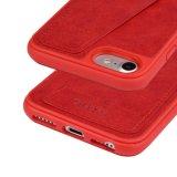 Caso protetor abundante de couro da tampa da tecnologia da proteção da tampa RFID da caixa da caixa TPU da carteira de C&T com a ranhura para cartão para o iPhone universal 6 6s & o iPhone 7