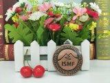 Aduana barata 3D de la promoción que compite con la medalla corriente del metal del deporte del maratón