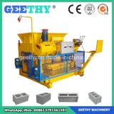 Qmy6-25移動式油圧具体的な空の煉瓦機械煉瓦作成機械