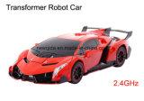 Новый автомобиль деформации смещения робота RC с нот для детей