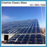 la glace de panneau solaire de 3.2mm avec les bords Polished a terminé