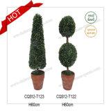 Topiary H24cm популярные пластичные искусственние и сад пирамидок Boxwood