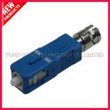 Adaptateur fibre optique hybride FC à SC