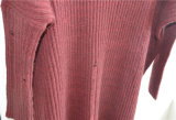 Winter-Frauenknit-Pullover-Strickjacke für Damen
