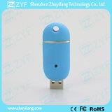 Multicolor de plástico deslizante forma de la píldora USB Flash Drive (ZYF1811)