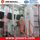 Máquina de capa electrostática del polvo con el sistema de recuperación