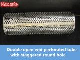 Tubulação/câmara de ar perfuradas do metal do filtro do aço inoxidável para o tratamento da água ou do petróleo