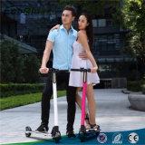Scooter électrique électrique de coup-de-pied de Hoverboard 350W de scooter de pliage sans frottoir de mode pour des adultes