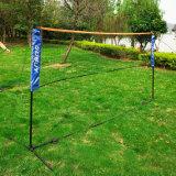 на сети Badminton сбывания задворк или парке напольной личной