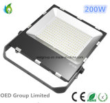 150W 200W Outdoor IP65 Waterproof LED Flood Lamp com 120lm / W Normal ou Meanwell Driver