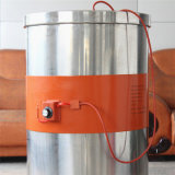 Calefator elétrico da borracha de silicone do elemento de aquecimento da tira do calefator do cilindro