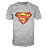 le T-shirt des hommes classiques de logo du surhomme 100%Cotton