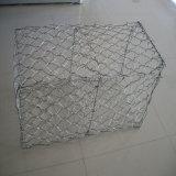 Gabionの網の擁壁