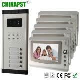 video telefono del portello dei 7 '' dell'affissione a cristalli liquidi del video 5 kit degli appartamenti (PST-VDO1-5K)