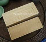 손잡이를 가진 최신 판매 원형 휴대용 나무로 되는 포도주 상자