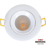 iluminación ajustable moderna de 7W LED con cuatro colores