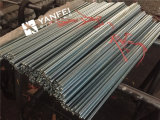 El cinc DIN975 plateó la cuerda de rosca Rod del acero de carbón