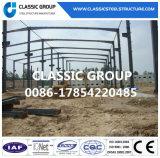 Almacén prefabricado modular de la estructura del marco de acero que ensambla