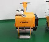 Fyl-600小さいハンドルガソリン単一のドラム振動の土かアスファルト舗道のローラー