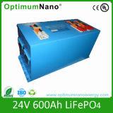 Solar System를 위한 힘 은행 24V 600ah Lithium Battery