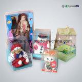 印刷の透過ゆとりPet/PVC/PPのプラスチックショッピングギフトの包装ボックス