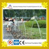 Fonte de água laminar do jato do jogo de crianças no parque