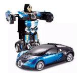 Перезаряжаемые Radio пластичный автомобиль робота RC деформации 2.4G модельный