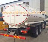 Faw 20-25 Cbm reaprovisiona el carro del tanque de combustible