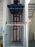 Elevador da carga do armazém e preço hidráulicos verticais do elevador de bens