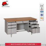 MDF Top Panel Metal Body Worker Use Office Desk
