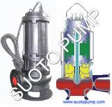 Bomba de água submergível centrífuga da série de Wq