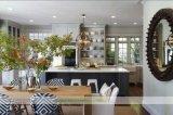 Cozinha de madeira cinzenta do abanador (WH-D252)