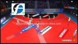 Innenhandball-Spiel umwirbt den Sport-Fußboden