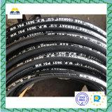 Rubber hidráulico Hose con (EN856-4SH)