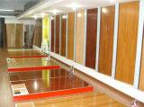 紫外線Ab BruchedのPrefinished多層カシの寄木細工の床によって設計されるフロアーリング