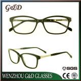 Het recentste Frame van het Schouwspel van het Oogglas van Eyewear van de Voorraad van de Acetaat In het groot Optische Sr6056