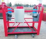 Plataforma psta levantada de Zlp do trabalho da estrutura aço de alumínio