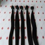 Micro estensioni dei capelli umani del ciclo