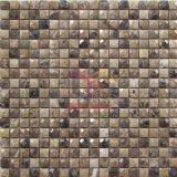 Diamant-Gesichts-Marmor-Mosaik-Fliese (CFS1118)