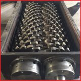 二重シャフトの無駄のゴムか使用されたタイヤ寸断機械