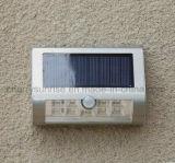 Garten-helle Bewegungs-Fühler-wasserdichte Solarwand-Solarmontierungs-im Freienlicht für Verkauf