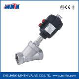 Cornières pneumatiques de siège de valve d'amorçage de l'acier inoxydable Y expliquées avec le dispositif d'entraînement d'acier inoxydable