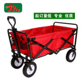Red Hand Steel Stainless Folding Trolley Cart para crianças