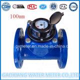 Dn100mm de Horizontale Foto-elektrische Meter van het Water Woltman